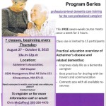 Alzheimer's Association hosts free Savvy Caregiver training