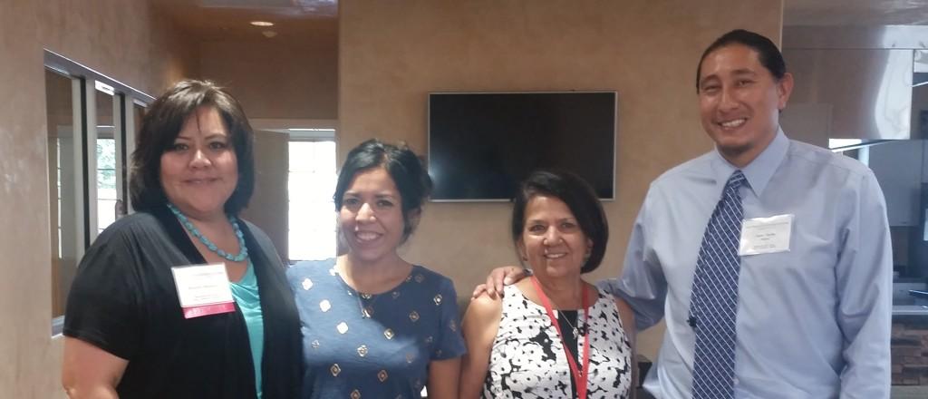 Randella with Isleta Senior Center staff - Copy