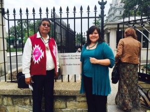 Wilson Wewa and Randella Bluehouse