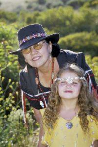 Chumash Grandmother & Granddaughter