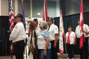 NICOA Conference American Legion Color Guard