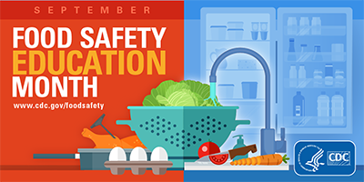 September is Food Safety Education Month