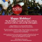 Holiday Message from NICOA Board of Directors and Executive Director Randella Bluehouse