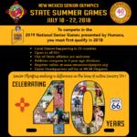 Upcoming New Mexico Senior Olympics Summer Games